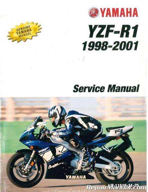 1998 2001 Yamaha Yzf1000r R1 Factory Service Manual Lit 11616 11 25