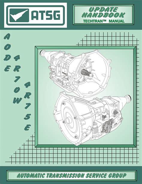 1998 4r70w Rebuild Manual