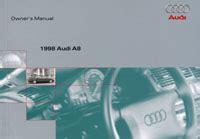 1998 Audi A8 Service And Repair Manual