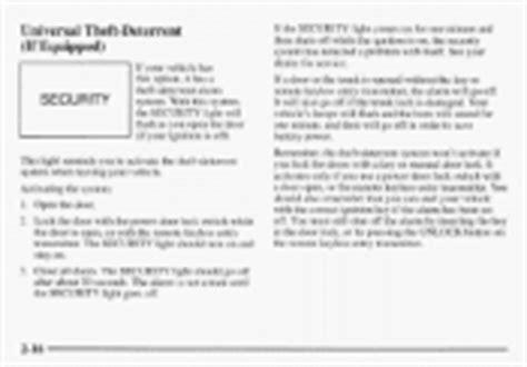 1998 Buick Lesabre Repair Manual