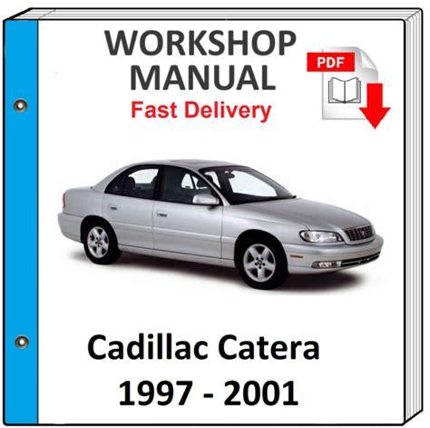 1998 Cadillac Catera Service Repair Manual