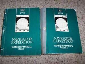 1998 Lincoln Navigator Repair Manual 119473