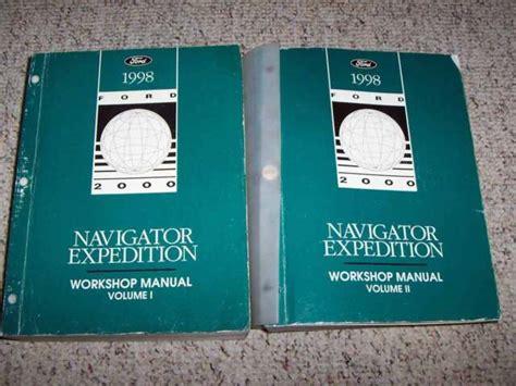 1998 Lincoln Navigator Service Repair Manual