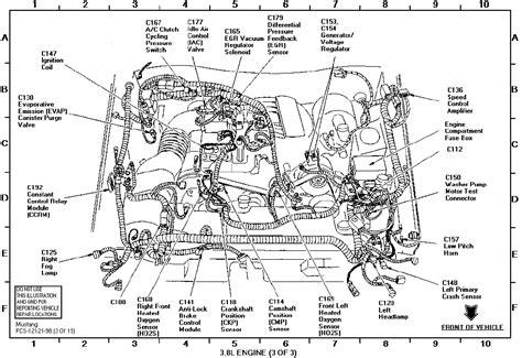 1998 Mustang Engine Diagram