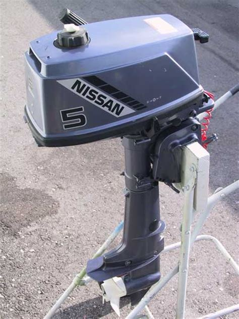 1998 Nissan 5hp Outboard Manual