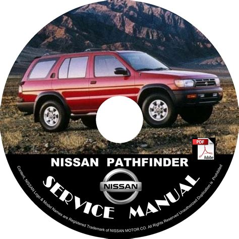 1998 Nissan Pathfinder Factory Service Manual
