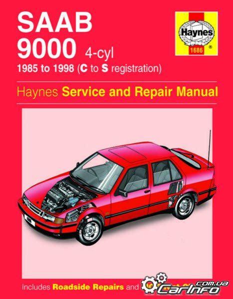 1998 Saab 9000 All Models Service And Repair Manual