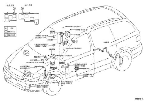1998 Toyota Sienna Wiring Diagram
