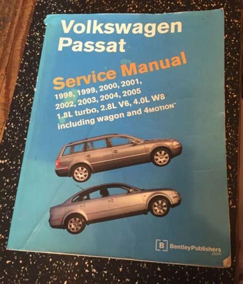 1998 Vw Passat Service Manual