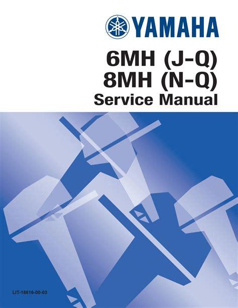 1998 Yamaha 40 Mshw Outboard Service Repair Maintenance Manual Factory