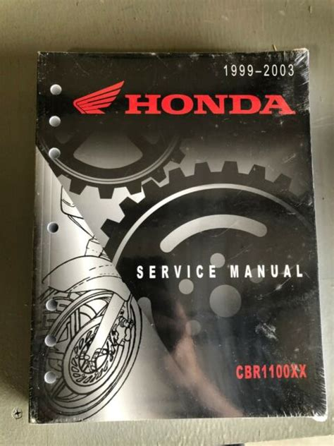 1999 2003 Honda Cbr1100xx Factory Service Manual 61mat54
