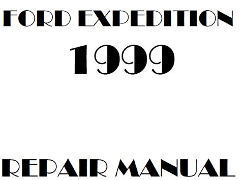 1999 Ford Expedition Owner Manual Fixya