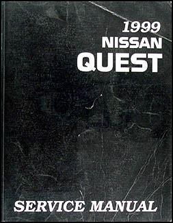 1999 Nissan Quest Van Repair Shop Manual