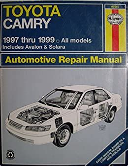 1999 Toyota Camry Haynes Manual