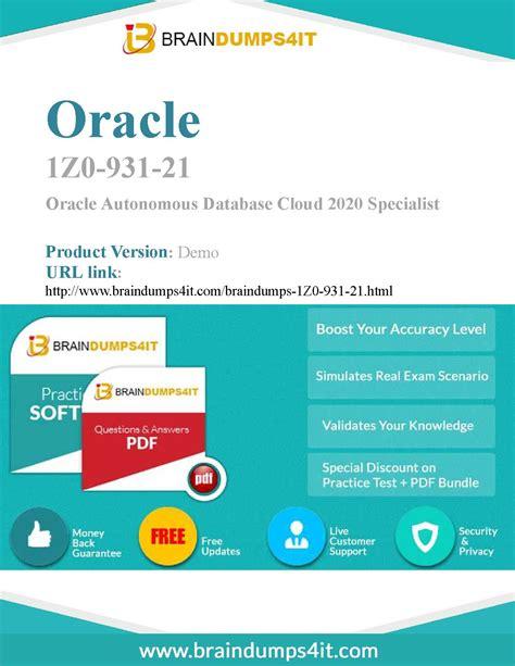 1Z0-1053-21 PDF Demo