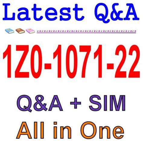 1Z0-1071-20 Exam Fragen