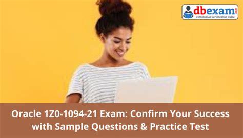 1Z0-1094-21 Exam Actual Questions