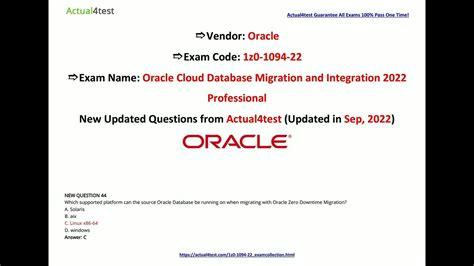 1Z0-1094-21 Exam Fragen