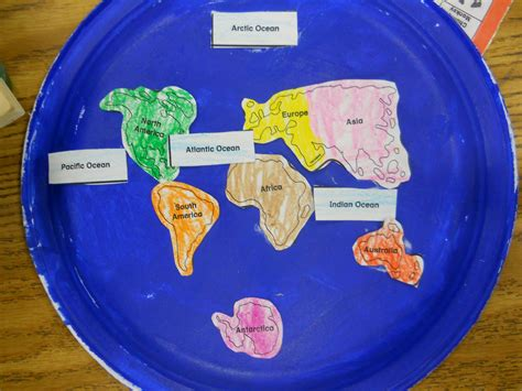 1st Grade Geography Continents Of Th