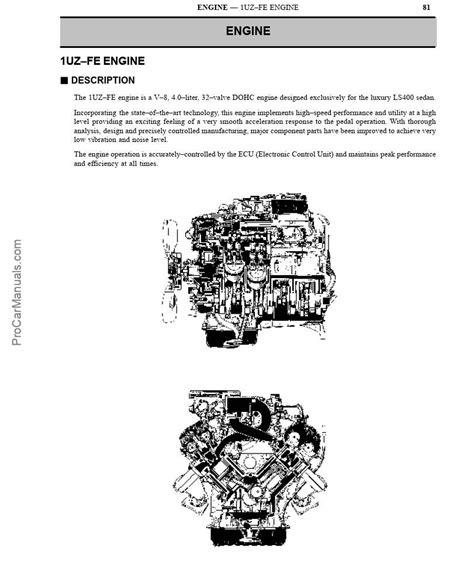 1uzfe Workshop Manual