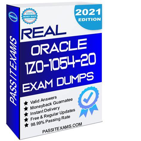 1z0-1054-20 Actual Exam