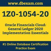 1z0-1054-20 Test Practice