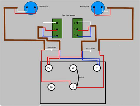 2 Taco Zone Valve Wiring Diagram