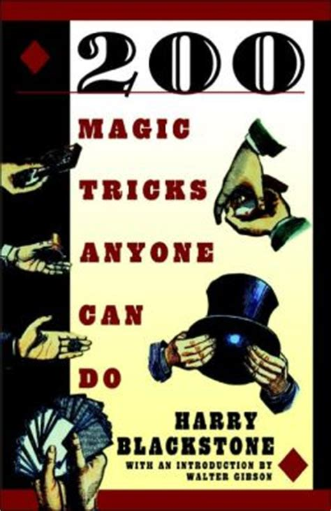 200 Magic Tricks Anyone Can Do