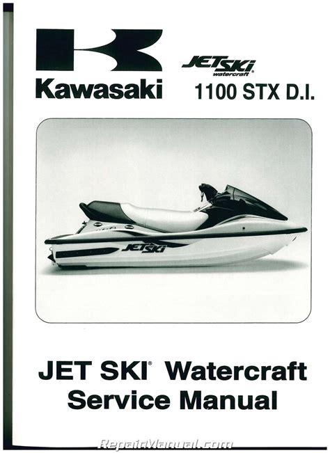 2000 2002 Kawasaki 1100 Stx Di Factory Service Manual