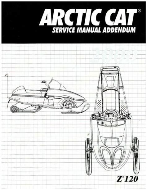 2000 Arctic Cat Z 120 Snowmobile Factory Service Manual Supplement 2256 253