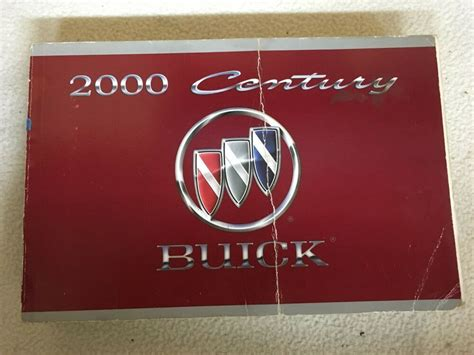 2000 Buick Century Owners Manual
