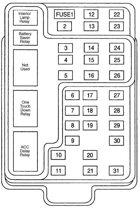 2000 Ford F 150 Fuse Box Diagram