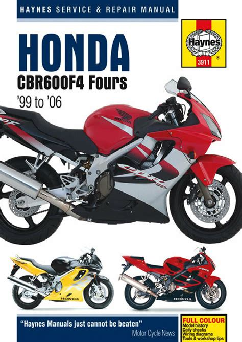2000 Honda Cbr 600 F4 Service Manual
