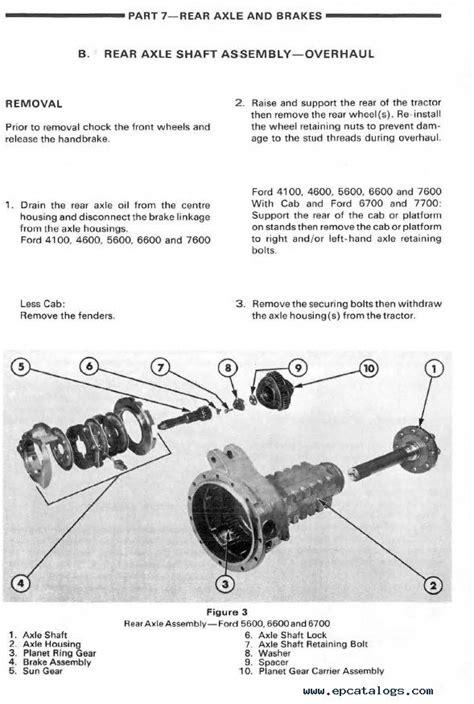 2000 New Holland 5610 Tractor Repair Manual