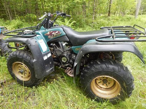 2000 Yamaha Big Bear 350 4x4 Manual