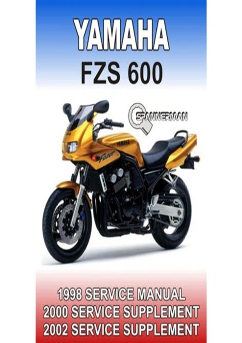 2000 Yamaha Fazer 600 Workshop Service Repair Manual