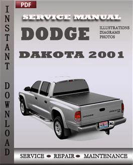 2001 Dodge Dakota Manual