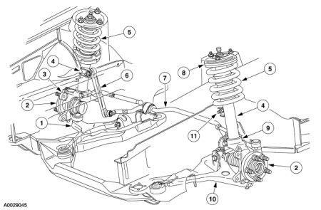 2001 Ford Taurus Parts Diagram
