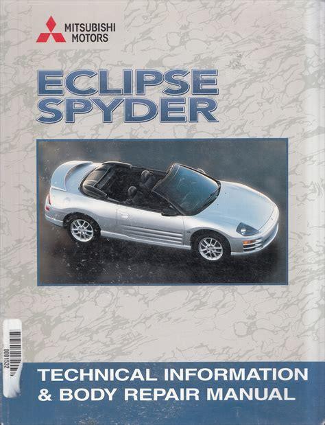 2001 Mitsubishi Eclipse Repair Manual