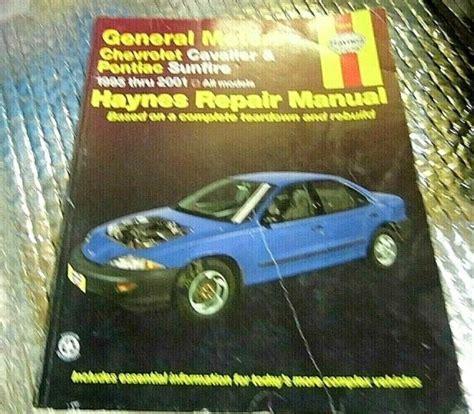 2001 Pontiac Sunfire Haynes Repair Manual