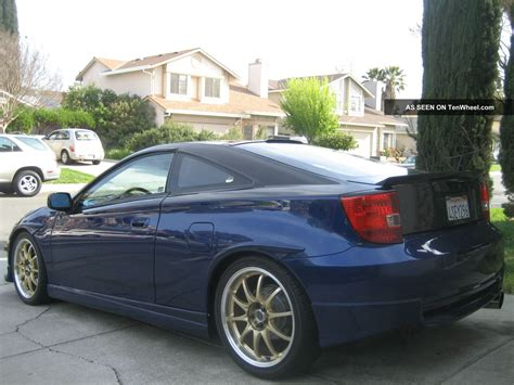 2001 Toyota Celica Gts Owners Manual