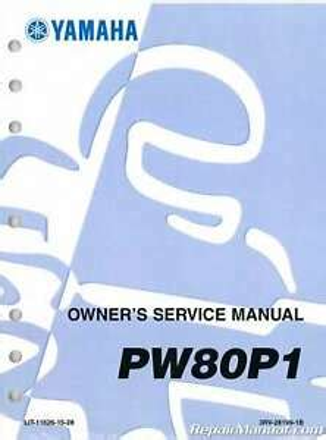 2002 2003 Yamaha Pw80 Factory Service Manual Lit 11626 15 28