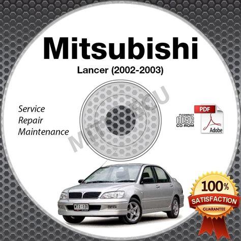 2002 Mitsubishi Lancer Service Manual