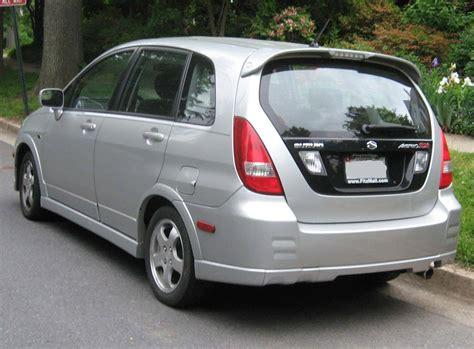 2002 Suzuki Aerio Sx Manual