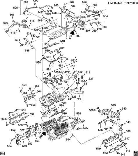 2003 Buick Century Engine Compartment Diagram
