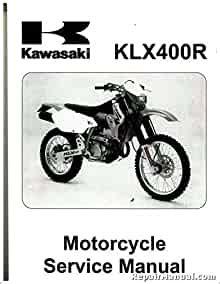 2003 2004 Kawasaki Klx400 Factory Service Manual 99924 1304 03