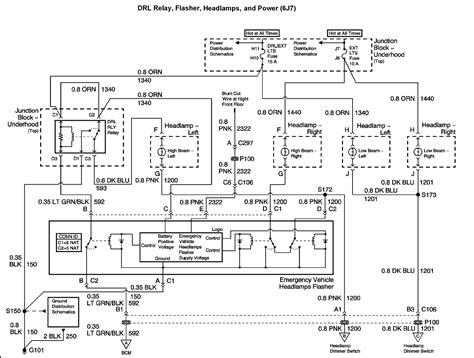 2003 Impala Headlight Wiring Diagram