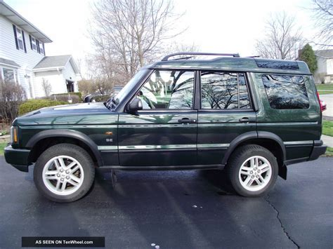 2003 Land Rover Discovery Se Owners Manual