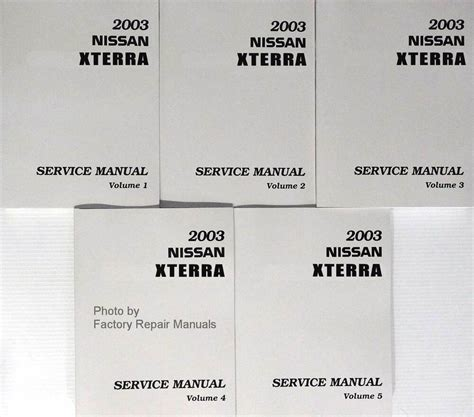 2003 Nissan Xterra Service Manual