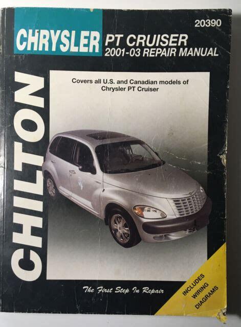 2003 Pt Cruiser Chiltons Manual